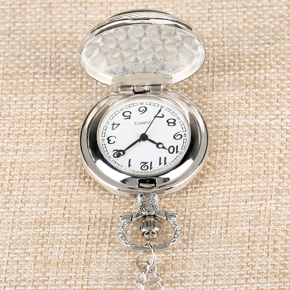 Cep saati kral çapraz İstasyonlu platformu 9 3/4 tasarım kuvars cep saati es Retro kolye saat çocuklar hediyeler reloj de bolsillo
