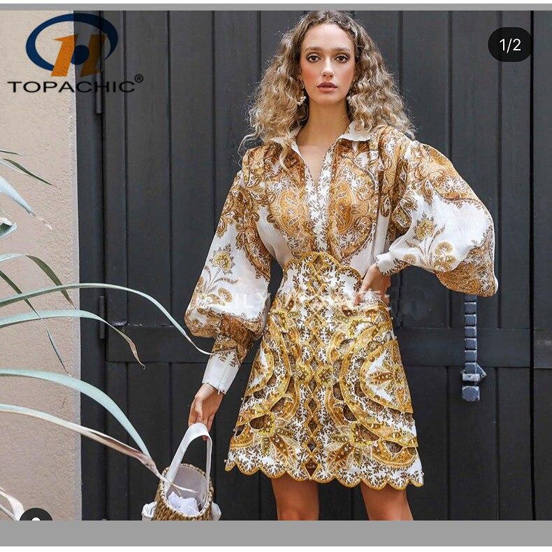 5,17 Frühling Sommer Die hohe qualität mode weibliche stehkragen langarm Print Button High Street Lose Blusen-in Blusen & Hemden aus Damenbekleidung bei AliExpress - 11.11_Doppel-11Tag der Singles 1