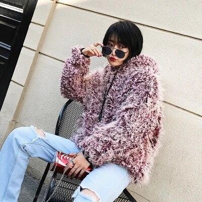 12 новый стиль высококлассное модное женское пальто из искусственного меха C16
