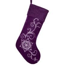 Popular Purple Christmas Stockings-Buy Cheap Purple Christmas ...