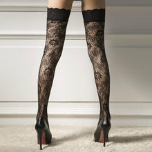 7ffc822bf Thigh High Stocking Women Summer Over The knee Socks Sexy girl Femme  Hosiery Nylon Lace Style Stay Up Stockings Plus Size