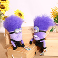2016 Venta Caliente Despicable Me Minions Solf Juguetes de Peluche Encantador 30 cm Tóxico Púrpura Minions Relleno Felpa Muñecas Juguetes para Brithday regalos