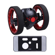 RC Jumping Bounce Cars 4CH 2.4GHz with Flexible Wheels Robot RC Car RC Toys Kid's Toys Gifts
