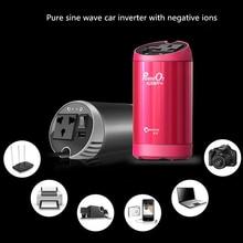 цена на 12v 220vXP Pure Sine Wave Car Inverter DC To AC Automatic 230 Volt Voltage Converter Fast Charger QC 3.0 Cigarette Lighter