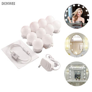 Bulbs-Lamp-Kit Cosmetic-Lights Makeup-Mirror Vanity Adjustable Brightness for 10pcs 3-Levels