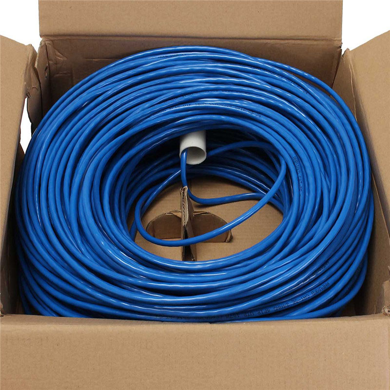 100M CAT5 5e 8 Pin Intertek High Speed LAN Network Cable UTP Copper Core Wire Twisted Pair Ethernet Cables Internet Cable for PC 100m cat5 5e 8 pin intertek high speed lan network cable utp copper core wire twisted pair ethernet cables internet cable for pc