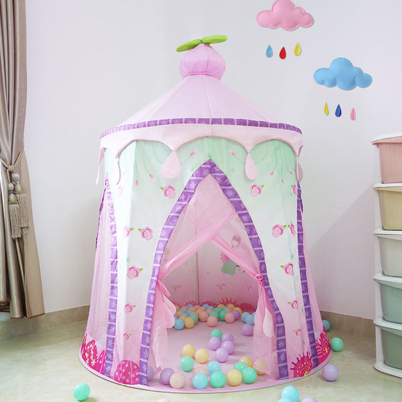 Kids tent game house oversized toy house princess room indian tent indoor princess tent yurt for baby giftsKids tent game house oversized toy house princess room indian tent indoor princess tent yurt for baby gifts