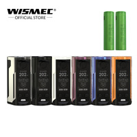 [Официальный магазин] Оригинальный wismec reuleaux RX GEN3 двойной мод коробка с 2 шт. 18650 Батарея электронные сигареты, испаритель vape mod