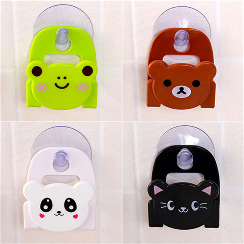 Cute Cartoon Soap Sponge Suction Hooks Drying Holder Home Kitchen Bathroom  Set Rack Sucker Wall Suction Hook Kitchen Dish Cloth