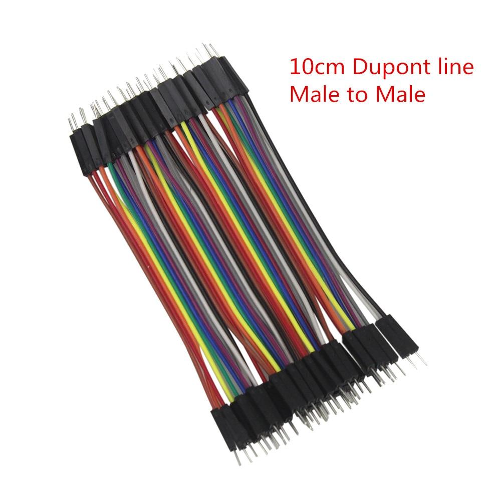 Умная электроника 120 шт. Дюпон линия 10 см мужчинами + мужчин и женщин и женский джемпер dupont кабель провод