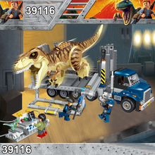 Jurassic World 2 Park Dinosaurs Tyrannosaurs Rex Carnotaurus Indoraptor Building Blocks Figures Toys Compatible With legoings
