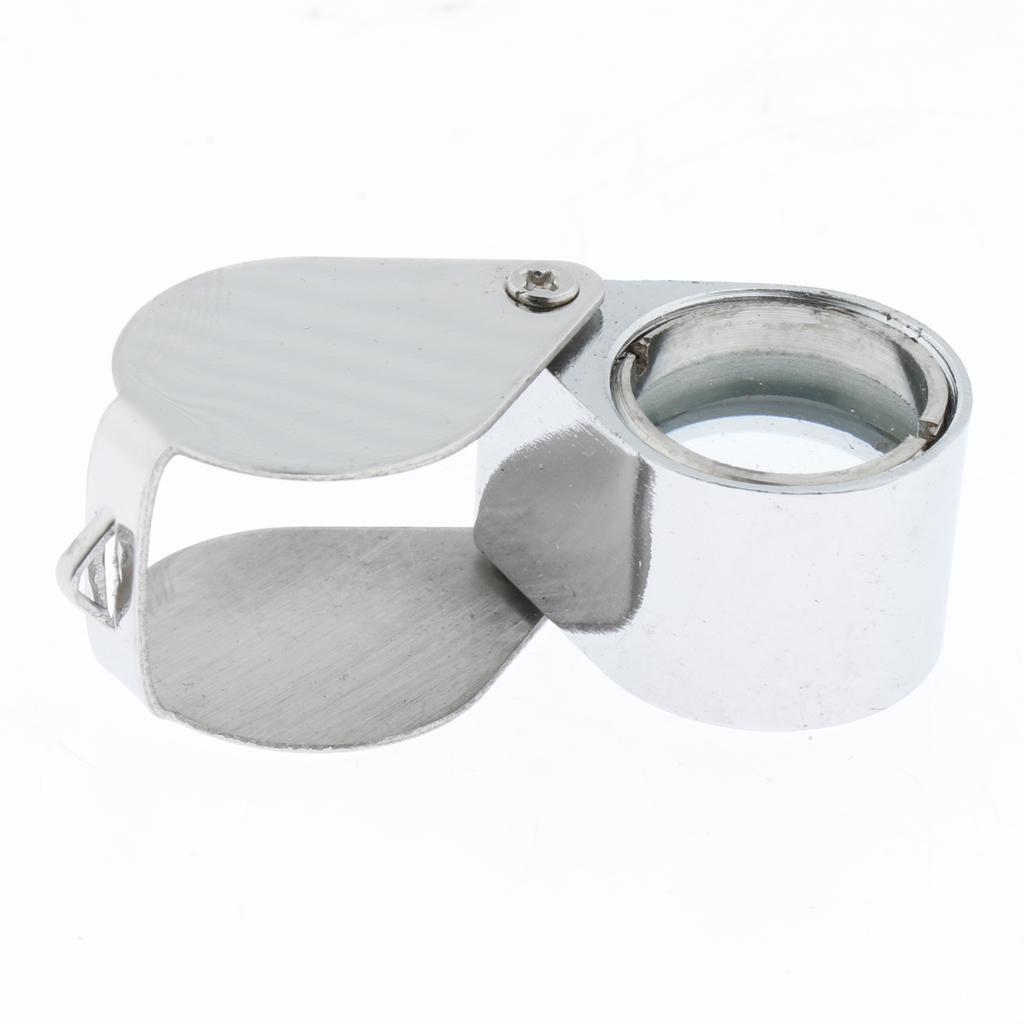 20 Times Jewelry Magnifier Handheld Portable Jewelry Magnifier Silver for Handmade DIY Jewelry Making in Jewelry Tools Equipments from Jewelry Accessories