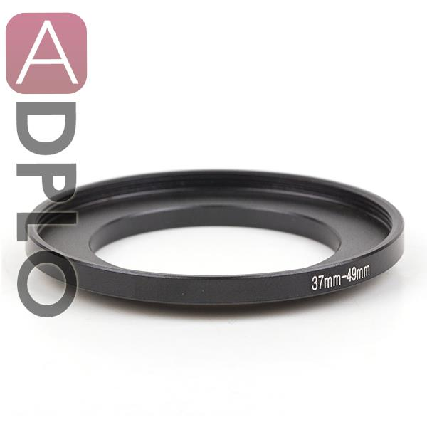 Pixco 37mm-49mm Step-Up Metal Filter Adapter Ring / 37mm Lens to 49mm Accessory