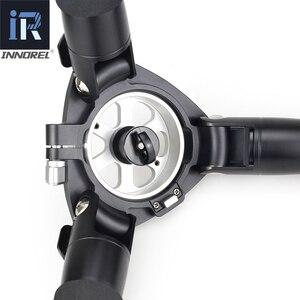 Image 4 - INNOREL RT90C profesyonel ağır kamera tripodu Ultra kararlı üst düzey kuş gözlemciliği kamera standı 40mm bacak tüpü Max yük 40kg
