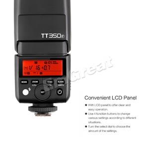 Image 4 - Godox TT350F pour Fujifilm Mini Speedlite caméra Flash/X1T F TTL HSS GN36 haute vitesse 1/8000S 2.4G système sans fil X pour Fuji