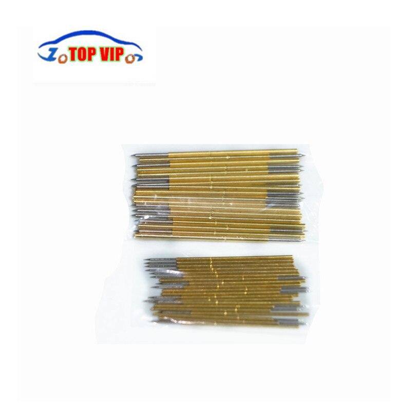 BDM rahmen pin für 40 stücke nadeln; es hat 20 stücke kleine nadeln und 20 stücke große nadeln unterstützung BDM100 ECU programmierer ktag ecu