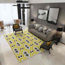 Grosses Wohnzimmer Teppiche Europa Schlafzimmer Geometrische Teppich Waschbar Matten Rechteck TeppichChina