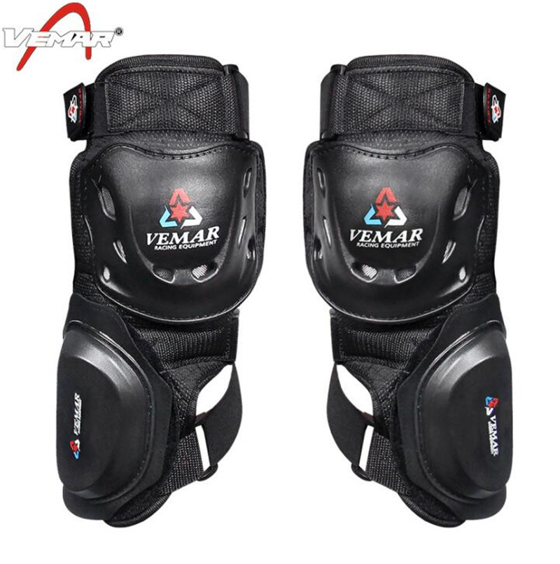 VEMAR Motorcycle Riding Knee Pads Motocross Off Road Racing Knee Protector Guard Outdoor Sports Protective Gear