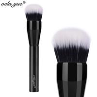 Vela Yue Domed Stippling Brush Duo Fiber Versatile Makeup Brush For Face Cheek Powder Foundation Bronzer