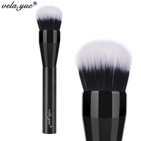 Vela Yue Domed Stippling Brush Duo Fiber Versatile Makeup Brush For Face Cheek Powder Foundation Bronzer