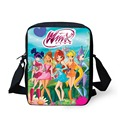 FORUDESIGNS Cute Cartoon Winx Club Girls School Bags Small Children Book Bag for Kindergarten Women Shoulder Bag Kids Mochila