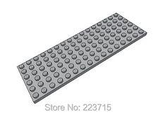 Bloc d'éveil, plaque 6x16x5 pièces, pièce n ° 3027 Compatible avec d'autres particules à assembler