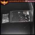 76Pcs Black Chrome Bolt Topper Caps Cover Kits Fits For Harley Davidson Twin Cam Dyna 1991-2013 2008 2009 2010 2011 2012