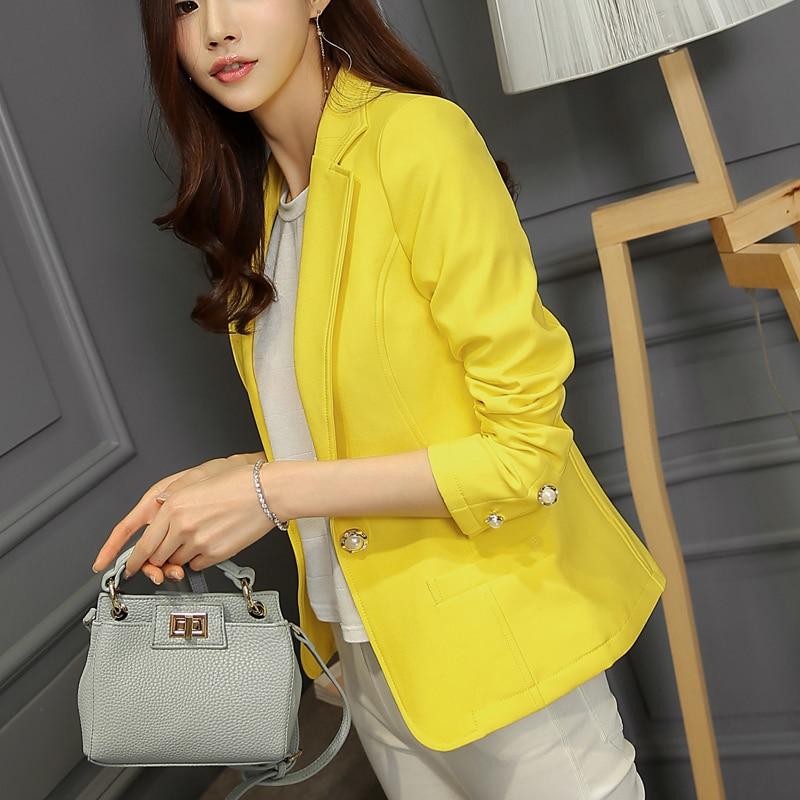 e2ffeda4 Moda Venta caliente elegante negocio Oficina formal sólido Trajes desgaste  mujeres manga larga chaqueta del juego de la chaqueta del verano
