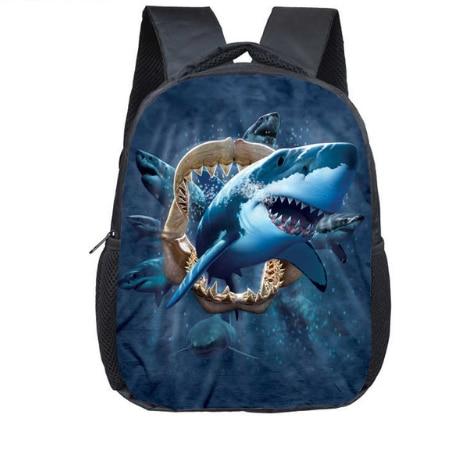 12 Inch Kindergarten Backpack 3D Shark Children Bookbag Boys Girls School  Backpacks Baby Toddler Bag Kids Bookbag-in Backpacks from Luggage & Bags on  ...
