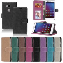 Leather Phone Cases sFor Coque Huawei Y560 Y5 Shell With Card Slot Retro Flip Wallet Mobile phone bags for Huawei Y560-L01 y5