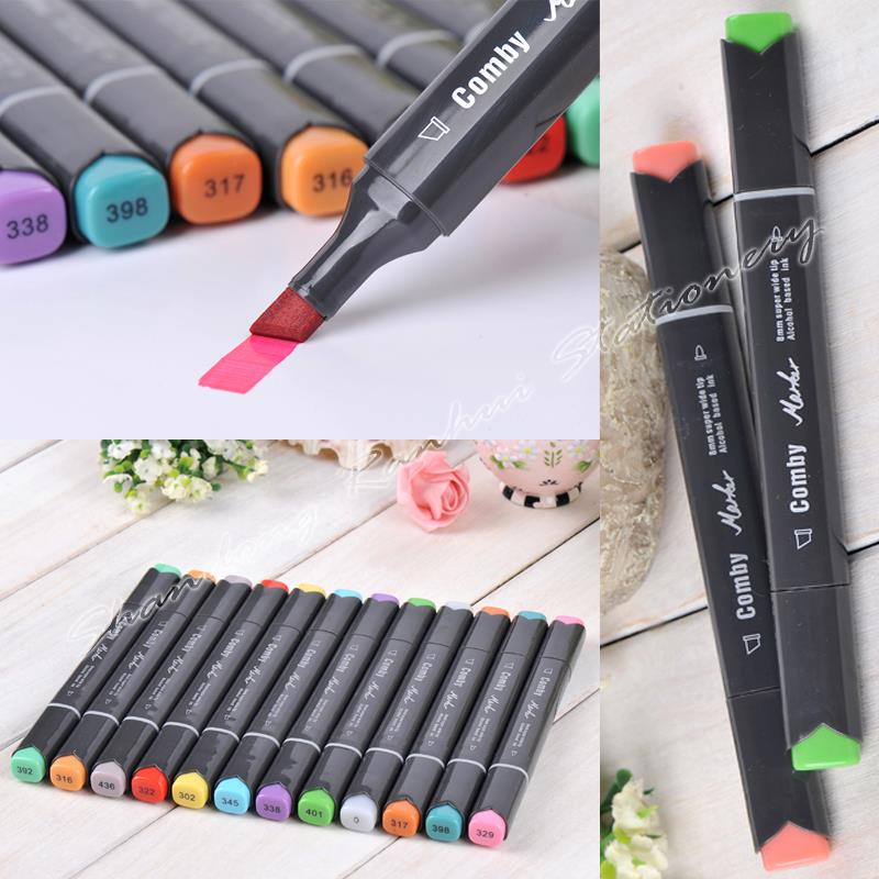 ФОТО 36/48/60/72 P Colors Animated cartoon Design Marker Pen Comby800 commonly used Sketch marker copic markers