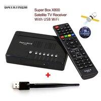 슈퍼 상자 X800 DVB-S/S2 위성 수신기 셋톱 TV 상자 USB