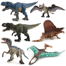 Jurassic Park Word Dinosaurs Toys Simulated Animals Action Figure