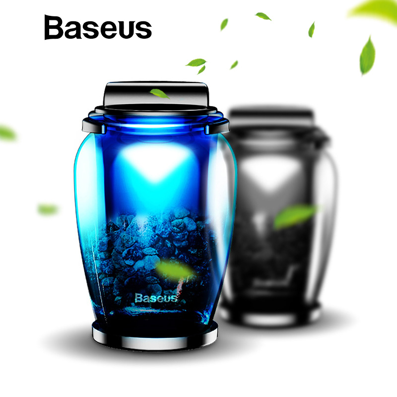 Baseus Aromathérapie Support De Voiture Désodorisant Parfum pour les Maisons D'air Sortie Auto Diffuseur Purificateur Solide Support de Téléphone De Voiture