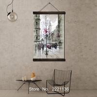 London Street Art Pictures Scroll Painting Modern Home Framed Hanging Wall Decoration Artworks In High Definition