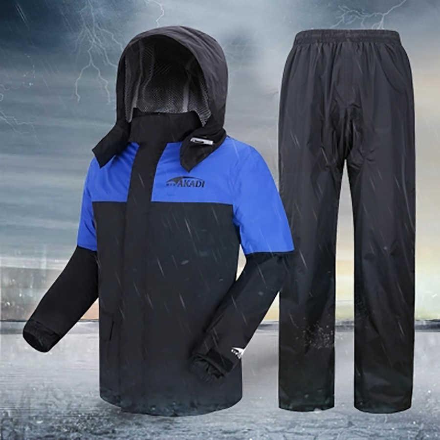 Мотоциклетный костюм для велоспорта, пончо, рюкзаки, мужские пончо, пальто для мужчин и женщин, плащ, непроницаемый, мотоциклетные костюмы, 5R147