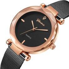 2018 Best Sell Women Watches Geneva Fashion Classic Hot Sale Luxury Stainless Steel Analog Quartz WristWatches relogio feminino