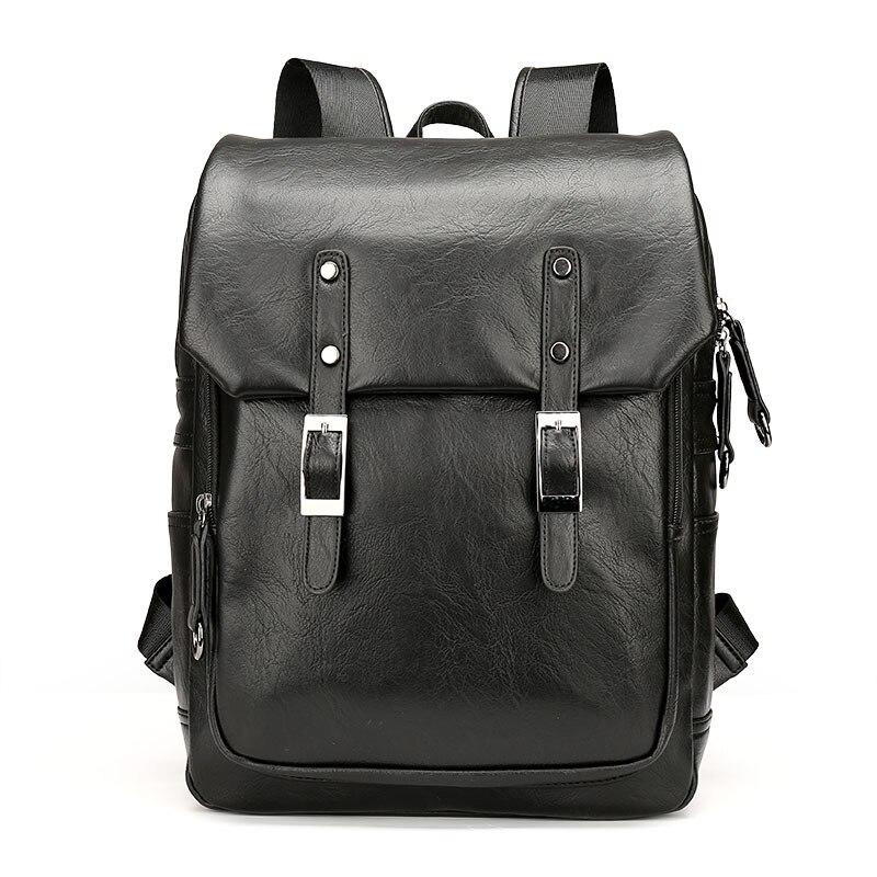 Amasie простой Дизайн мужская мода рюкзак большой повседневная кожаная мужская Брендовая Дизайнерская обувь Sac Основной высокое качество EGT0210