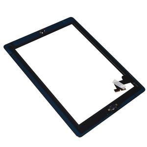 Image 5 - Dla iPad Mini 1 2 Mini 3 wysokiej jakości ekran dotykowy Digitizer zgromadzenia z klucza do domu przycisk i Home Flex kabel Mini1 Mini2 mini3