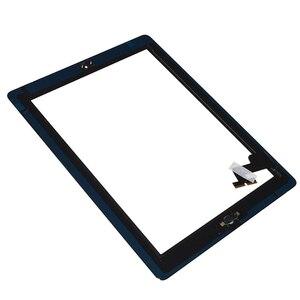Image 5 - Per iPad Mini 1 2 Mini 3 di Alta Qualità Dello Schermo di Tocco Digitizer Assembly con Tasto di Chiave Domestica e Casa Flex cavo Mini1 Mini2 Mini3