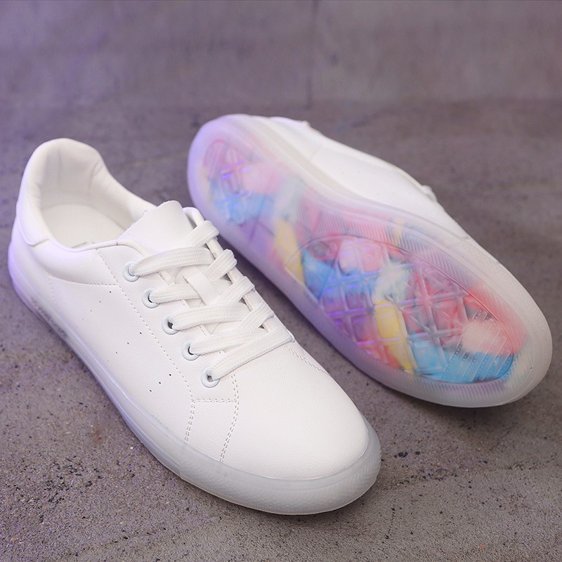 Women Casual Shoes Fashion Breathable Walking Lace Up Flat Shoes Sneakers Women Tenis Feminino White Vulcanized Shoes CR-11