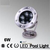 IP68 LED fonte piscina luz  luz subaquática  luz piscina piscina forswimming  paisagem ponto lamp6W 12 v AC