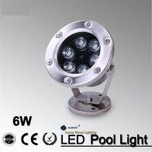 IP68 LED fountain light pool light, underwater light, piscina light forswimming pool ,landscape spot lamp6W 12V AC