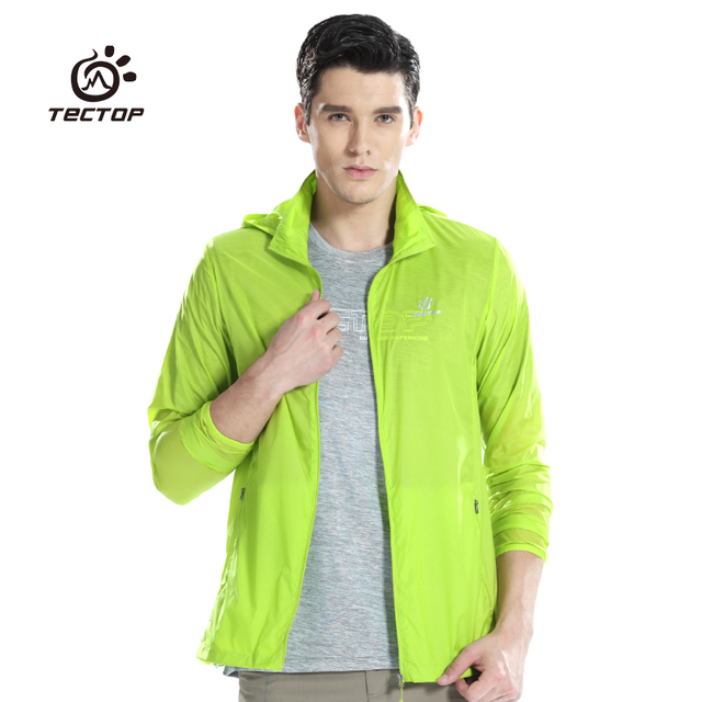 Sports Camping Fishing Thin Quick Dry Jacket Unisex Lightweight Coat Windproof Breathable summer windbreaker for mens