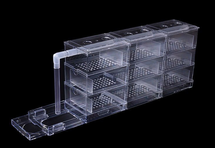 Acrylic Fish Tank Ecological Water Purifier Filter Trickle Box Aquarium Upper Filter Box  Biochemical External Water Purifi