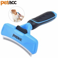Petacc Multi Functional Cleaning Slicker Brush Practical Pet Hair Brush Durable Dog Grooming Brush