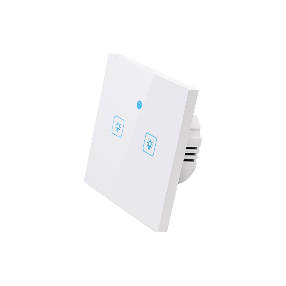 Image 2 - WS WiFi  APP/ Touch Control Wall Light Switch 1/2/3 Gang Panel Wall Touch Light Switch Smart google Home with Alexa-in Home Automation Modules from Consumer Electronics