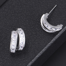 SISCATHY Charms Women Earrings original mujer moda Charm Jewelry boucle doreille femme Luxury Goegeous Statement Stud