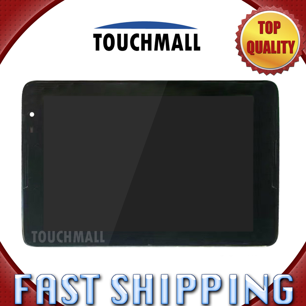 For New LCD Display Touch Screen with Frame Assembly Replacement Lenovo tab A8-50 A5500 A5500F 8-inch Black FreeShipping lcd display screen replacement for lenovo a8 50 a5500 a5500 hv tablet pc