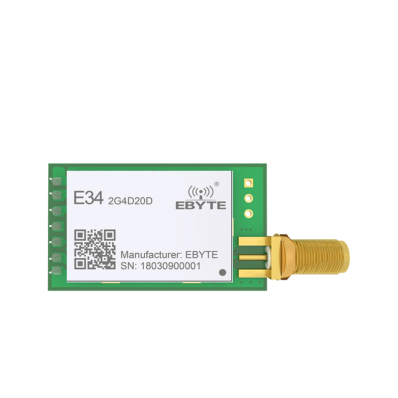 Image 2 - E34 2G4D20D nRF24L01P 2.4GHz 20dBm 2.4GHz rf Module Wireless Long Range  2km UART Long Range rf Transceiver Module-in Fixed Wireless Terminals from Cellphones & Telecommunications